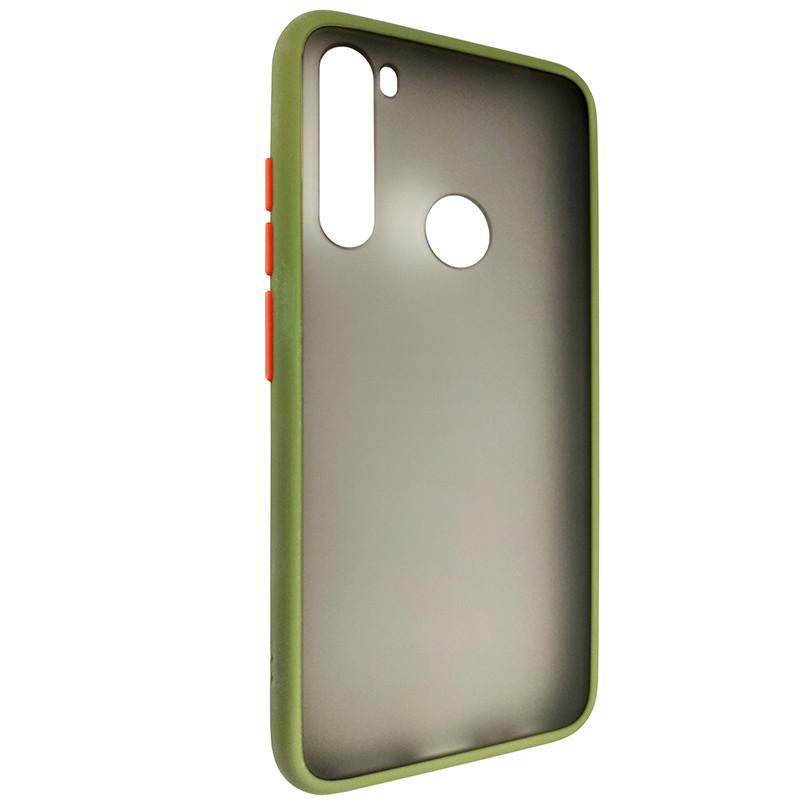 Чохол Totu Copy Gingle Series for Xiaomi Note 8 Dark Green+Orange - 1
