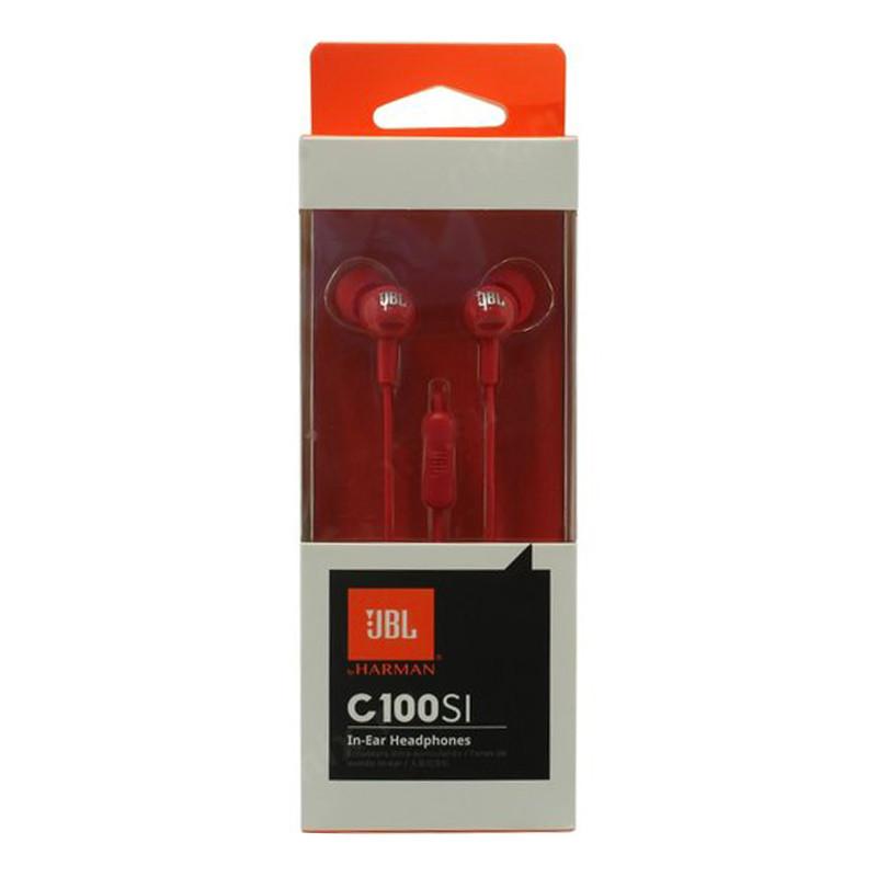 Гарнітура JBL C100SI Red - 3