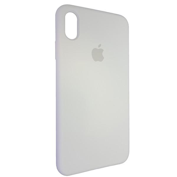 Чехол Copy Silicone Case iPhone XS Max White (9) - 1