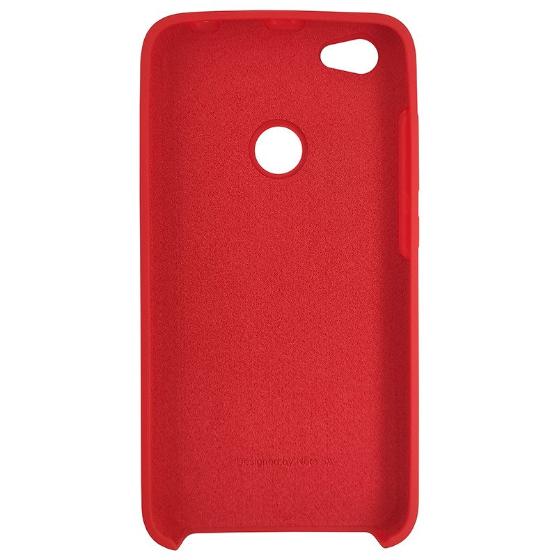 Чохол Silicone Case for Xiaomi Redmi Note 5A Red (14) - 3