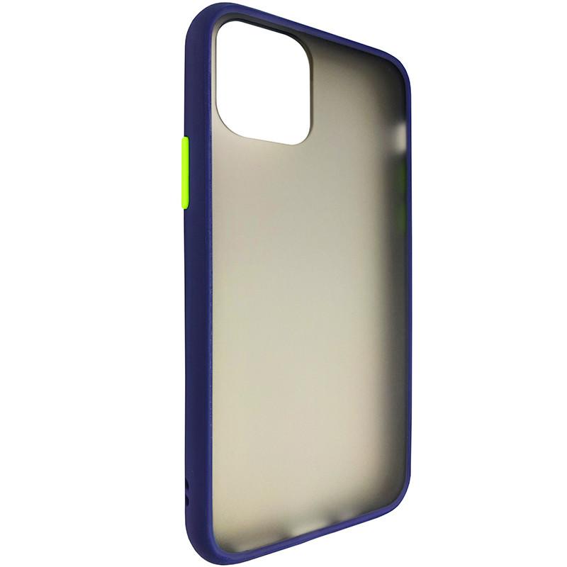 Чохол Totu Copy Gingle Series for iPhone 11 Pro Blue+Lighrt Green - 1
