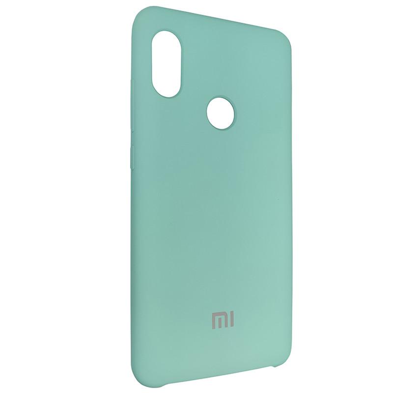 Чохол Silicone Case for Xiaomi Redmi Note 5 Pro Ice Sea Blue (21) - 2