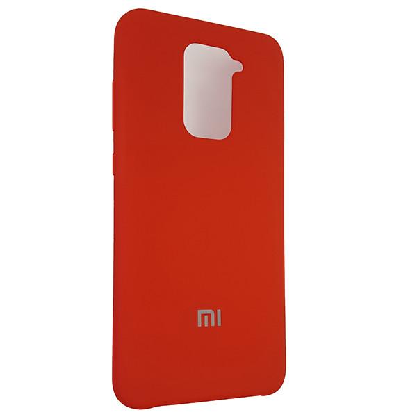 Чохол Silicone Case for Xiaomi Redmi Note 9 Red (14) - 2