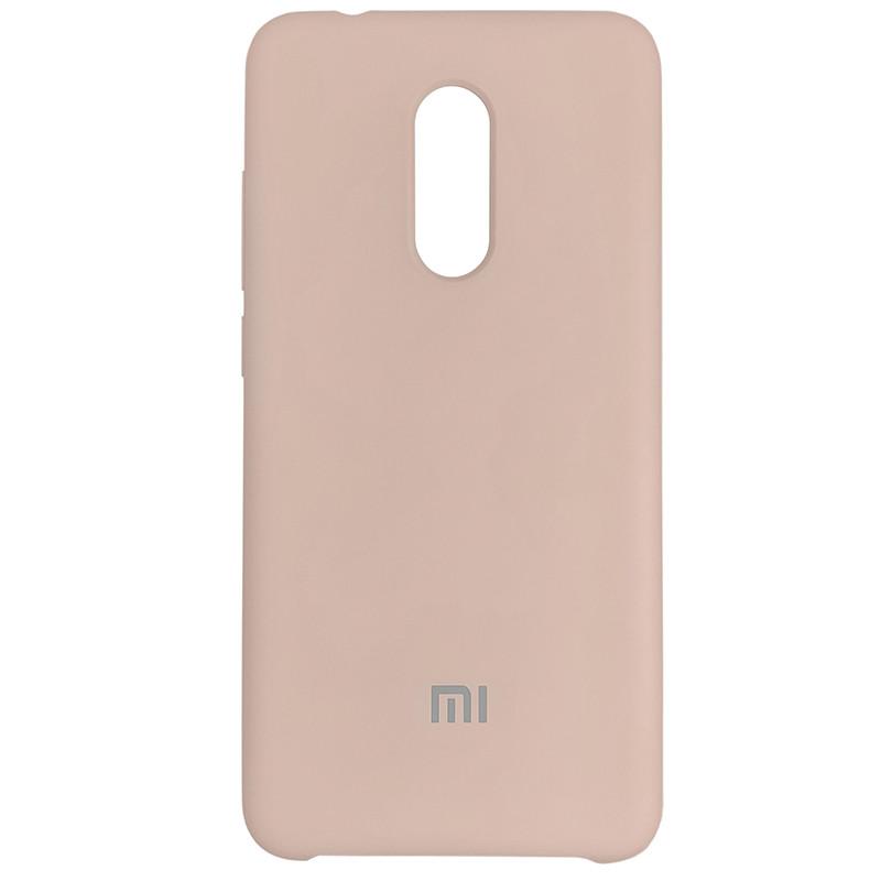 Silicone Case for Xiaomi Redmi 5 Sand Pink (19) - 1