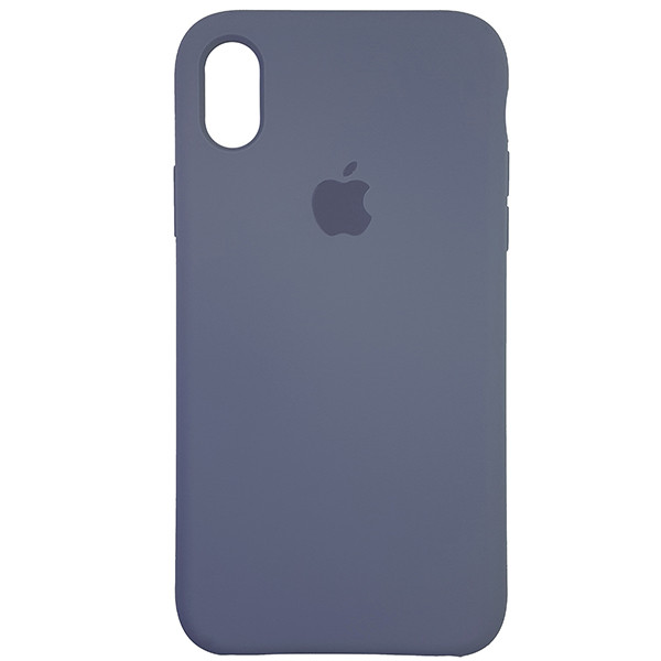Чохол Copy Silicone Case iPhone XR Gray (46) - 3