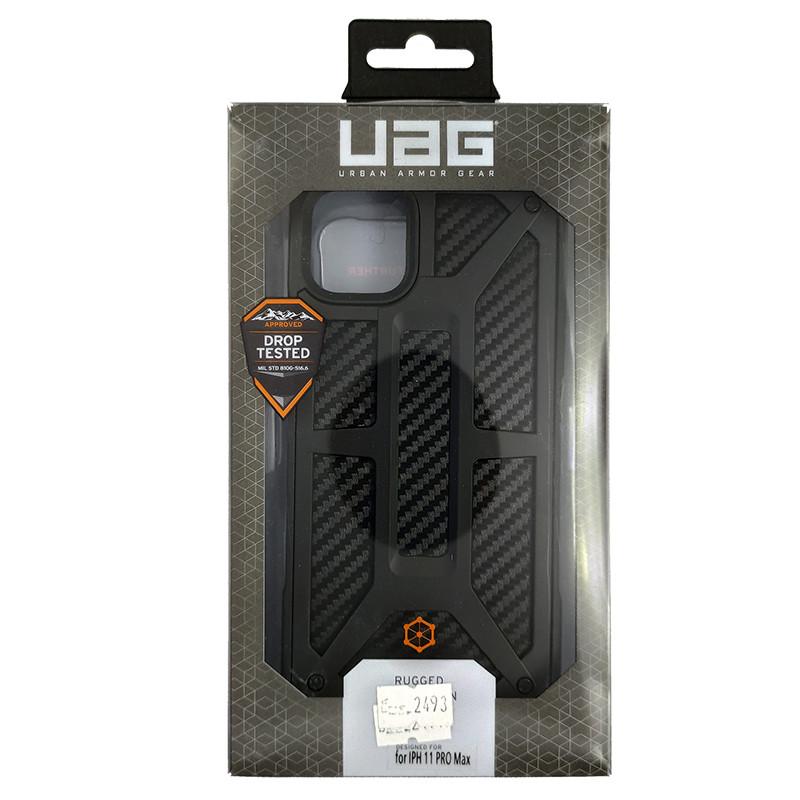 Чохол UAG Monarch iPhone 11 Pro Max Black (HC) - 5