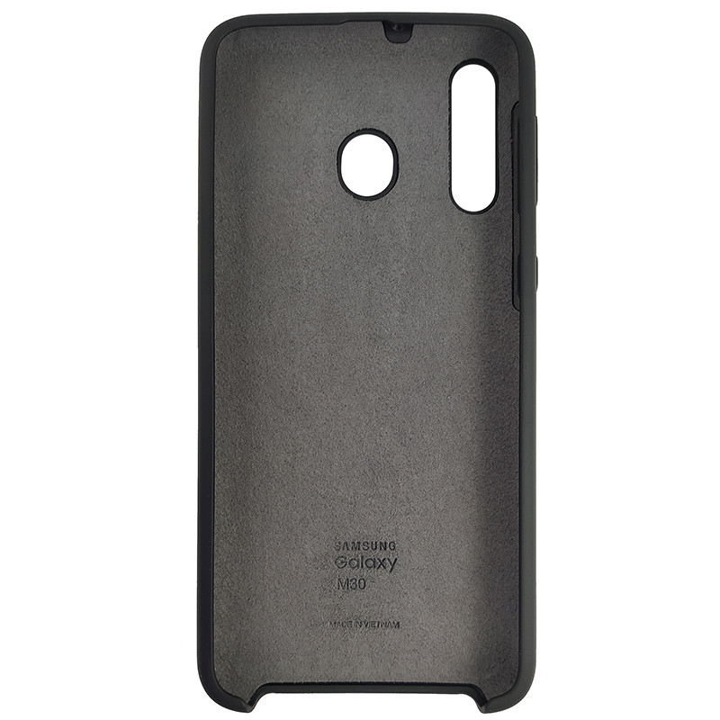 Чохол Silicone Case for Samsung M30 Black (18) - 3