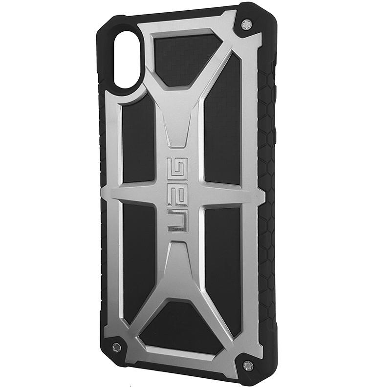 Чохол UAG Monarch iPhone XR Silver (HC) - 1