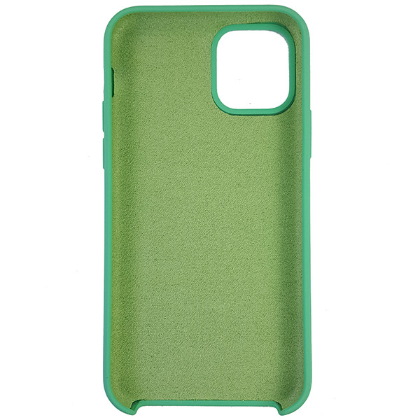 Чохол Copy Silicone Case iPhone 11 Pro Sea Green (50) - 4