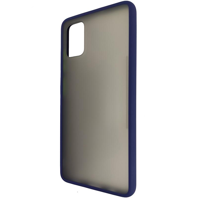 Чохол Totu Copy Gingle Series for Samsung A51/M40S Blue+Light Green - 2