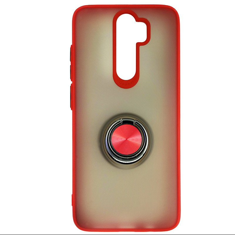 Чохол Totu Copy Ring Case Xiaomi Redmi Note 8 Pro Red+Black - 3