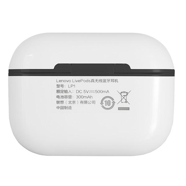 Безпровідна гарнітура Lenovo LP1 White/Black - 7