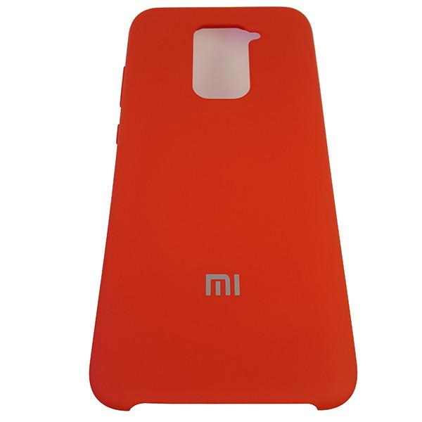 Чохол Silicone Case for Xiaomi Redmi Note 9 Red (14) - 4