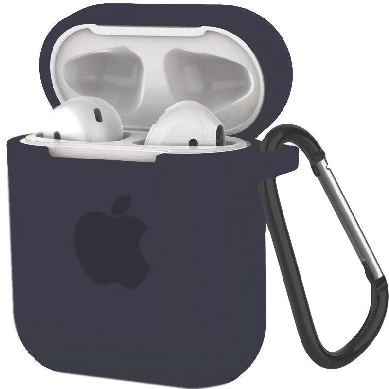 Silicone Case for AirPods Midnight (8) - 1