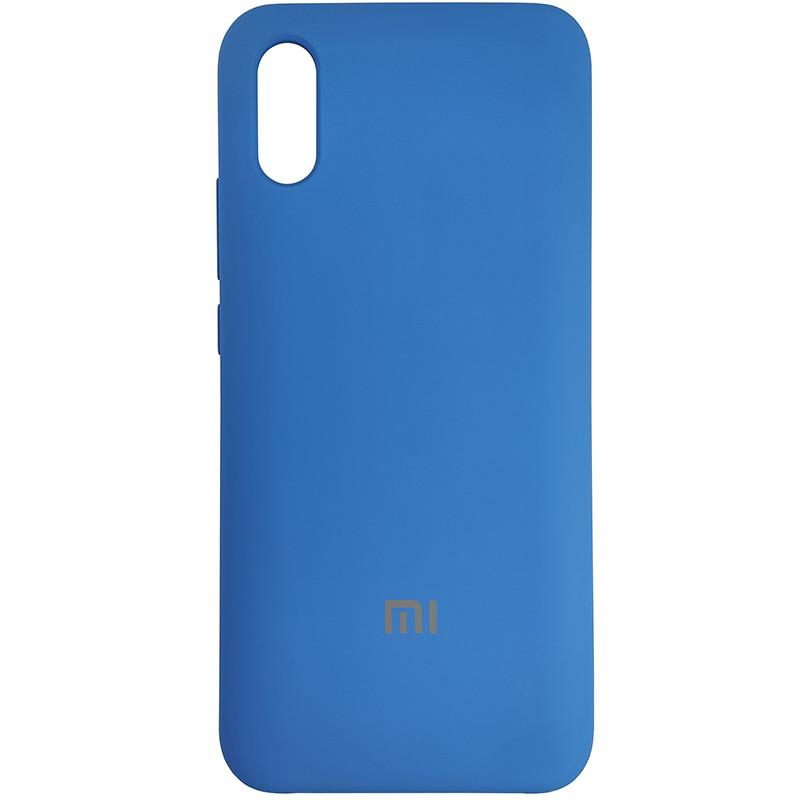 Чохол Silicone Case for Xiaomi Redmi 9A Blue (3) - 1