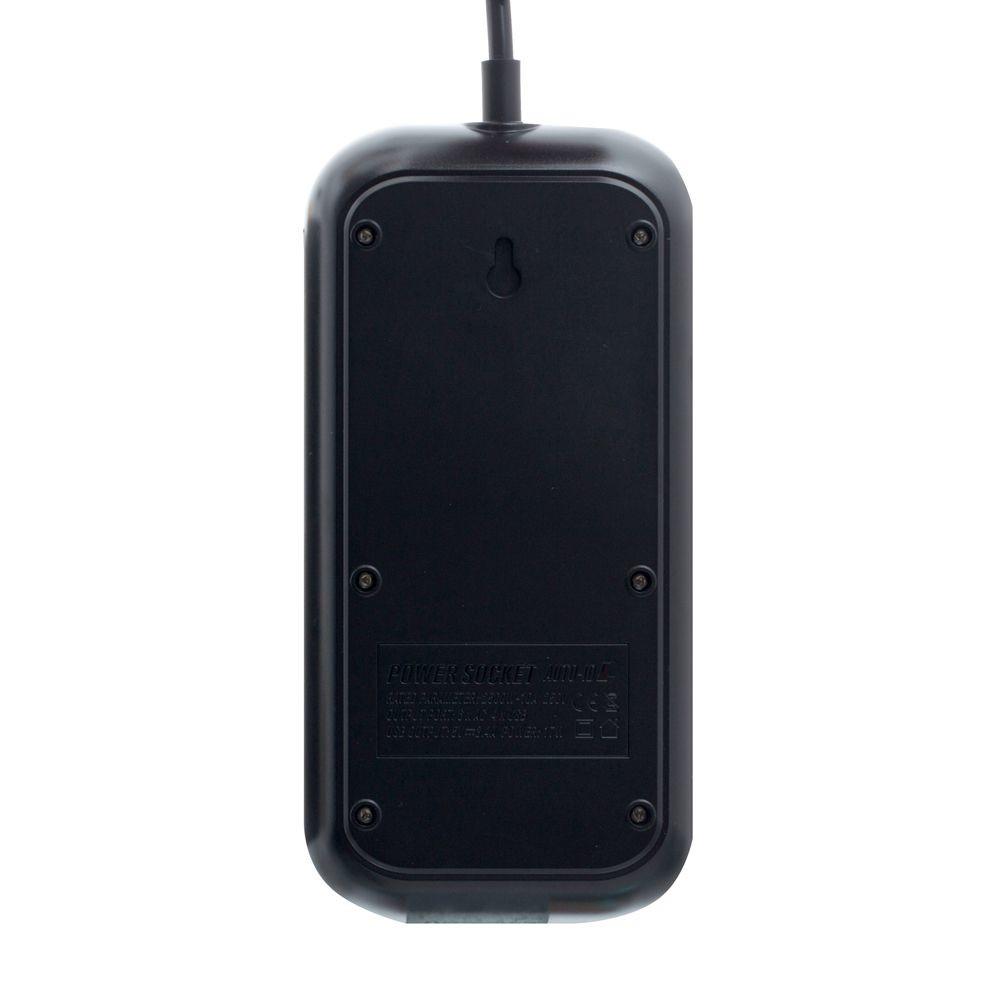 Мережевий Подовжувач LDNIO SE6403 4USB Black - 4
