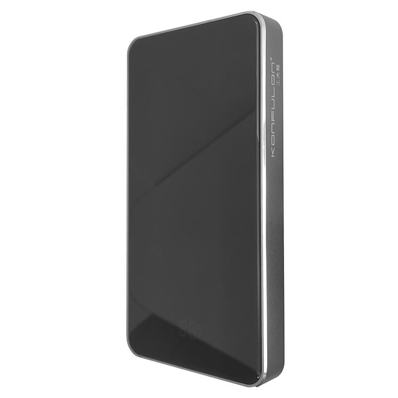 Power Bank Konfulon P10 10000 mAh Black+Gray - 1