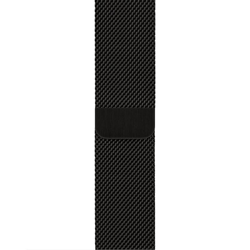 Ремінець для Apple Watch (42-44mm) Milanese Black - 1