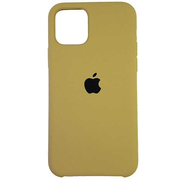 Чохол Copy Silicone Case iPhone 11 Gold (28) - 3