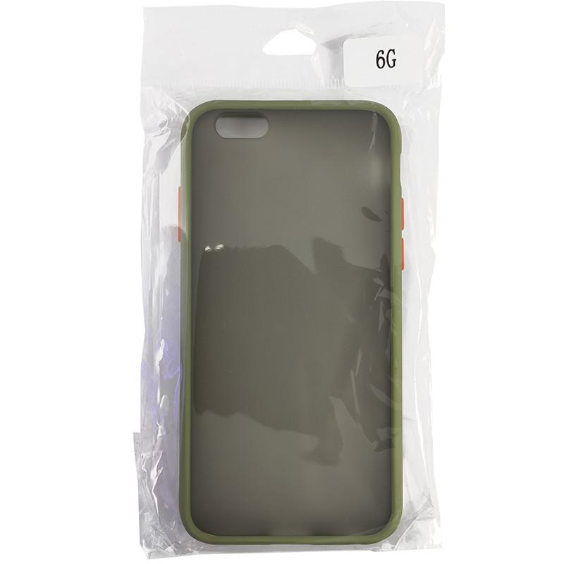 Чохол Totu Copy Gingle Series for iPhone 6 Dark Green+Orange - 4