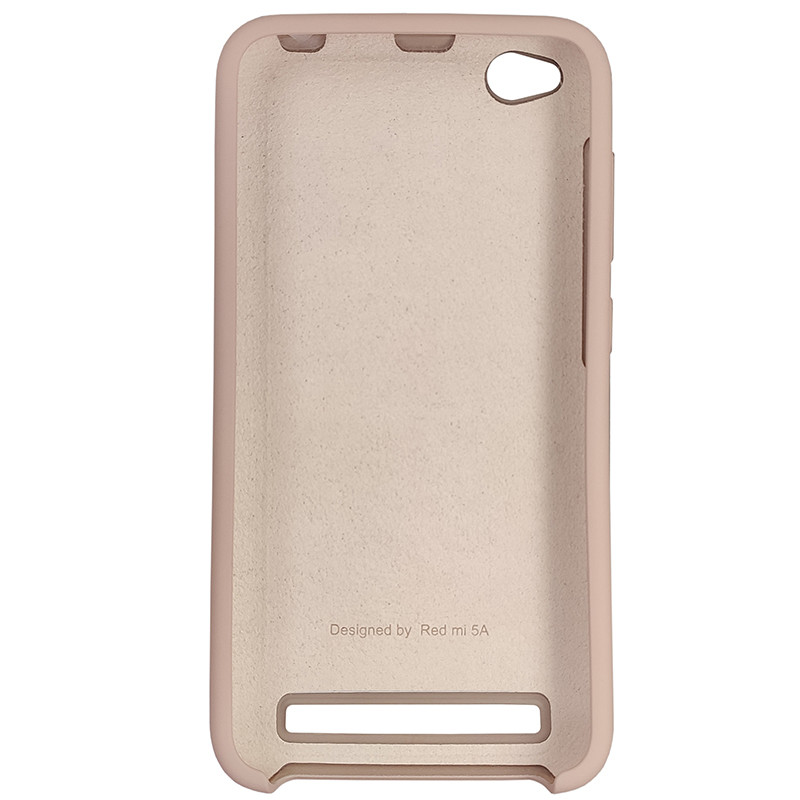 Чохол Silicone Case for Xiaomi Redmi 5A Sand Pink (19) - 3