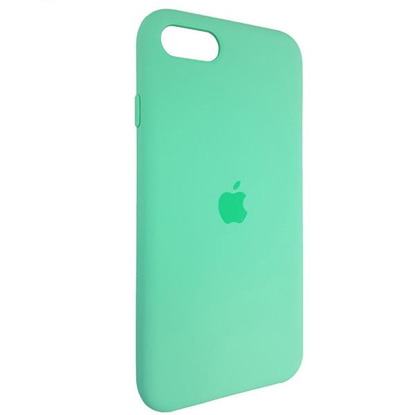 Чохол Copy Silicone Case iPhone SE 2020 Sea Green (50) - 1