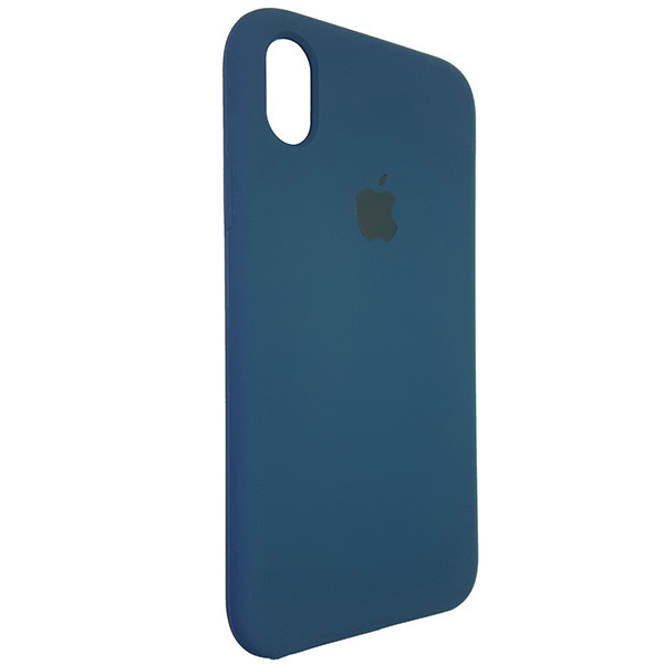 Чохол Copy Silicone Case iPhone XR Cosmos Blue (35) - 1