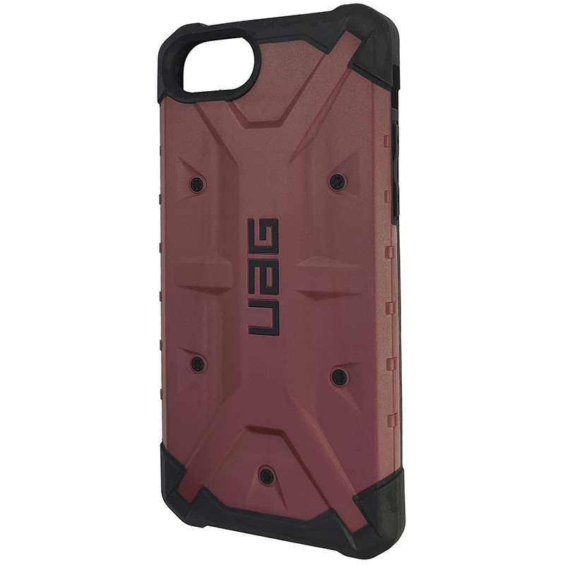 Чохол UAG Pathfinder iPhone 7/8 Wine Red (HC) - 1