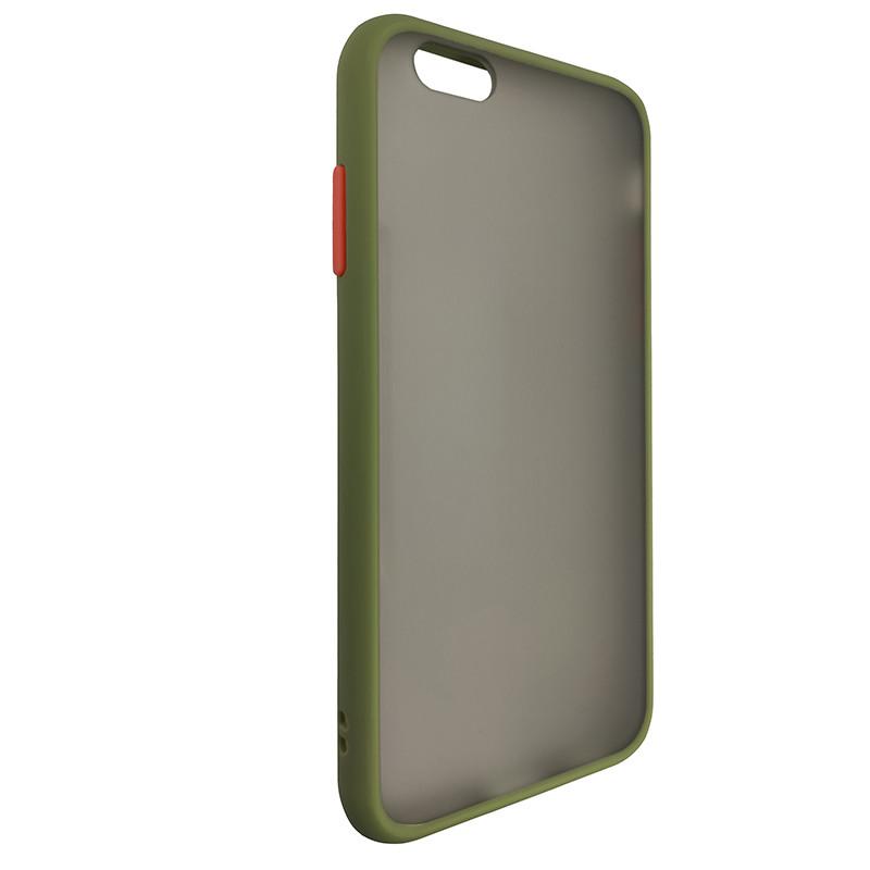Чохол Totu Copy Gingle Series for iPhone 6 Dark Green+Orange - 1