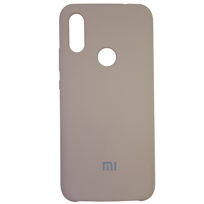 Чохол Silicone Case for Xiaomi Redmi 7 Sand Pink (19) - 1