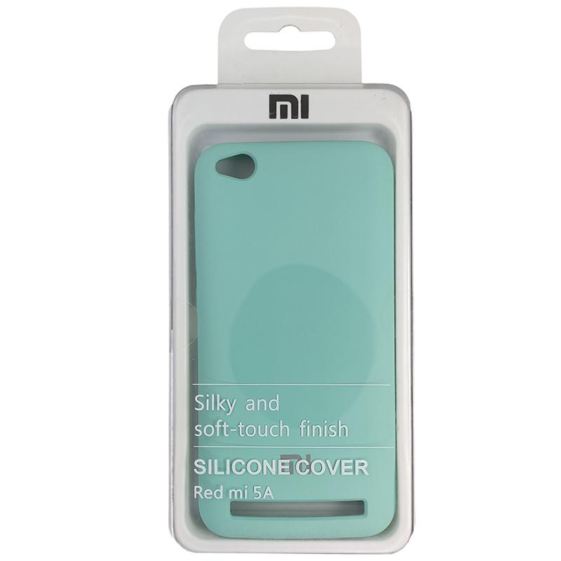 Чохол Silicone Case for Xiaomi Redmi 5 Ice Sea Blue (21) - 4