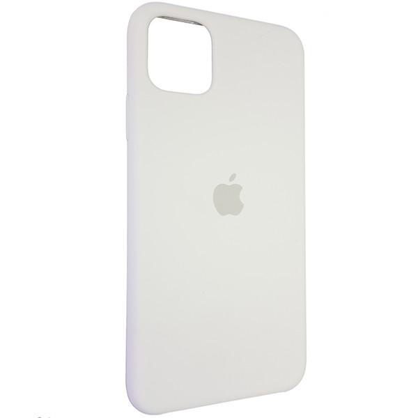 Чехол Copy Silicone Case iPhone 11 Pro Max White (9) - 1