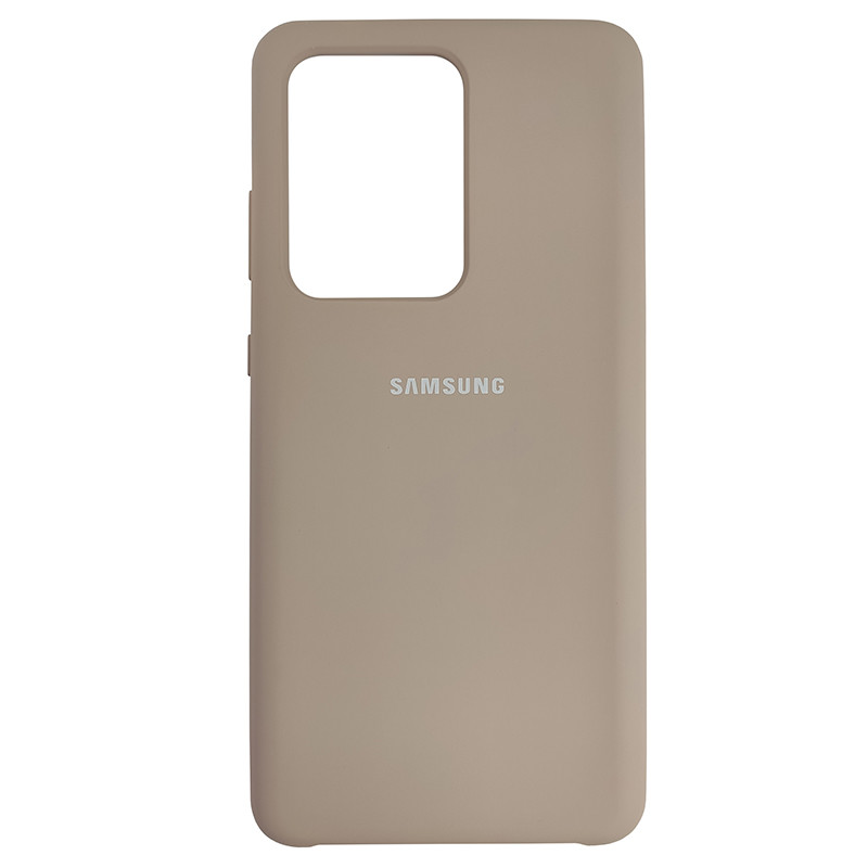 Чохол Silicone Case for Samsung S20 Ultra Sand Pink (19) - 1