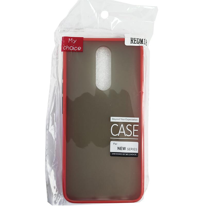 Чохол Totu Copy Gingle Series for Xiaomi 8 Red+Black - 3