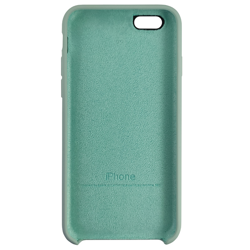 Чохол Copy Silicone Case iPhone 6 Mist Green (17) - 3