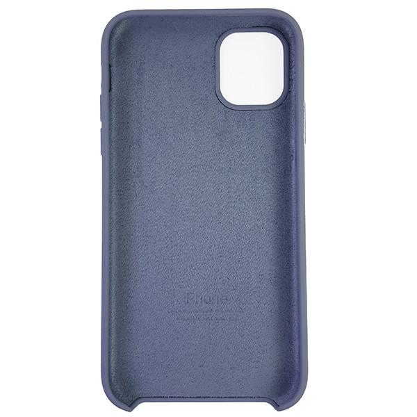 Чохол Copy Silicone Case iPhone 11 Gray (46) - 4
