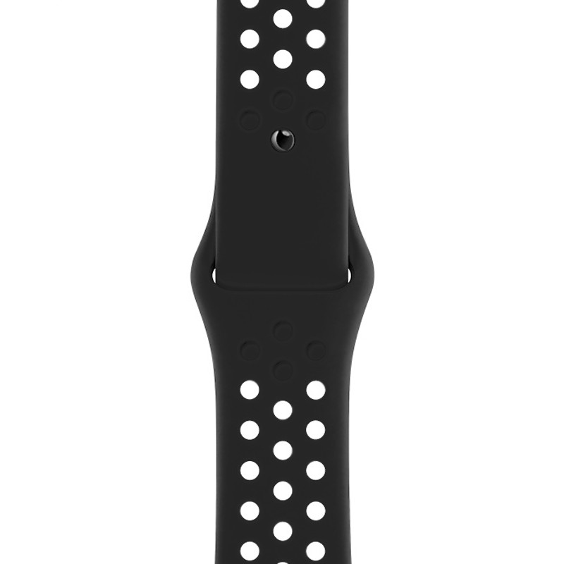 Ремінець для Apple Watch (42-44mm) Nike Sport Band Black - 1
