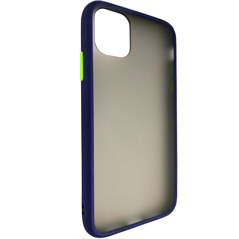 Чохол Totu Copy Gingle Series for iPhone 11 Blue+Light Green - 1
