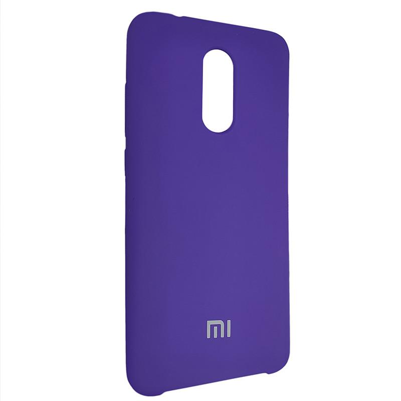 Чохол Silicone Case for Xiaomi Redmi 5 Violet (36) - 2