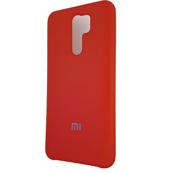 Чохол Silicone Case for Xiaomi Redmi 9 Red (14) - 1