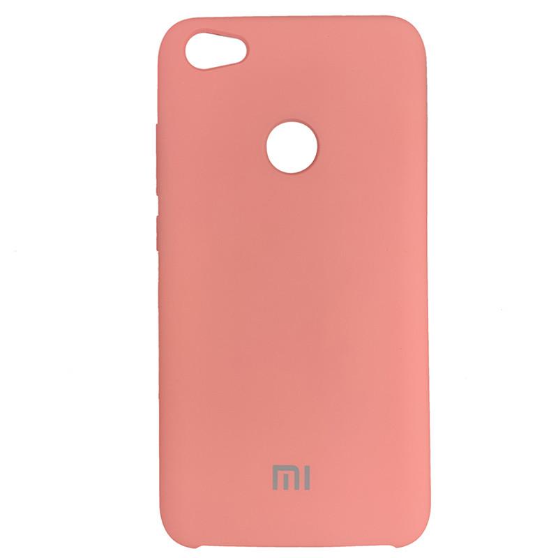 Чохол Silicone Case for Xiaomi Redmi Note 5A Peach Bl.Pink (light) (35) - 1
