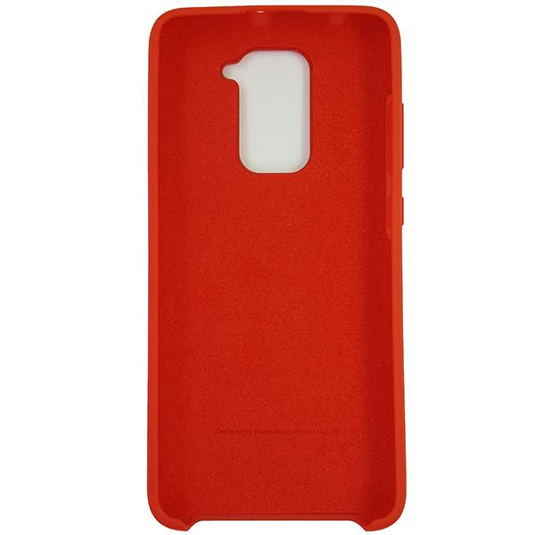 Чохол Silicone Case for Xiaomi Redmi Note 9 Red (14) - 3