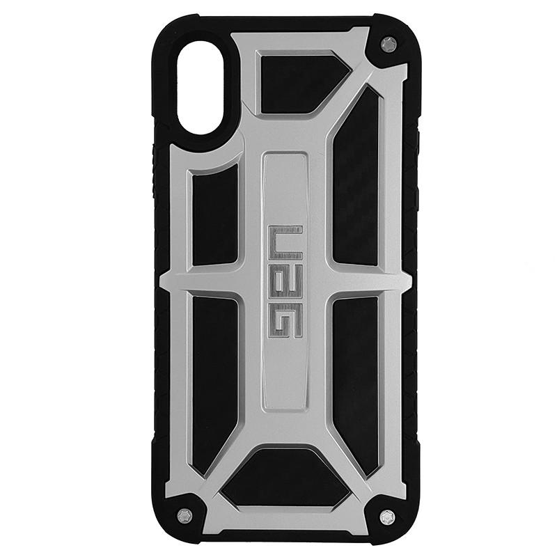 Чохол UAG Monarch iPhone X/XS Silver (HC) - 3