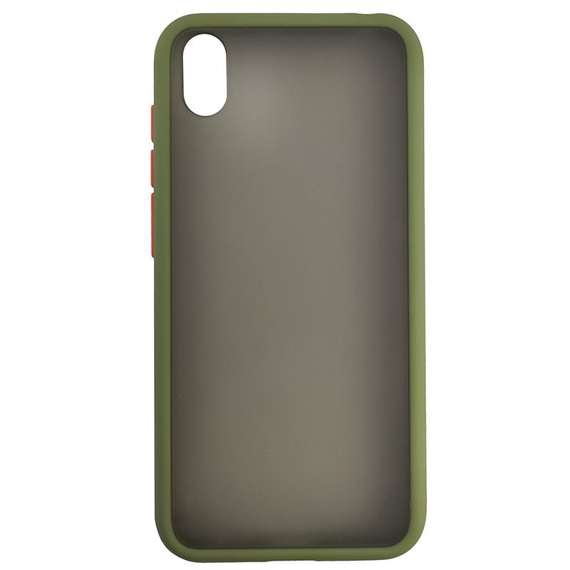 Чохол Totu Copy Gingle Series for Huawei Y5 2019 Dark Green+Orange - 2