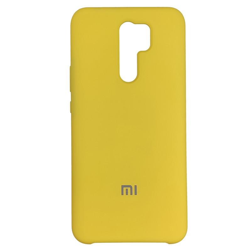 Чохол Silicone Case for Xiaomi Redmi 9 Yellow (4) - 1