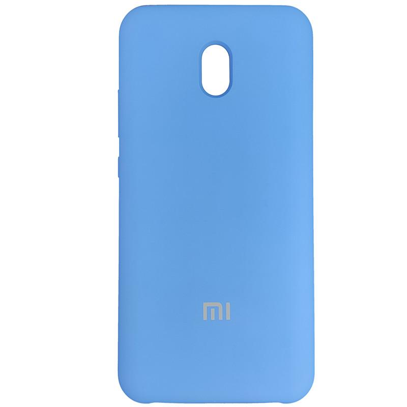Чехол Silicone Case for Xiaomi Redmi 8A Blue (3) - 1