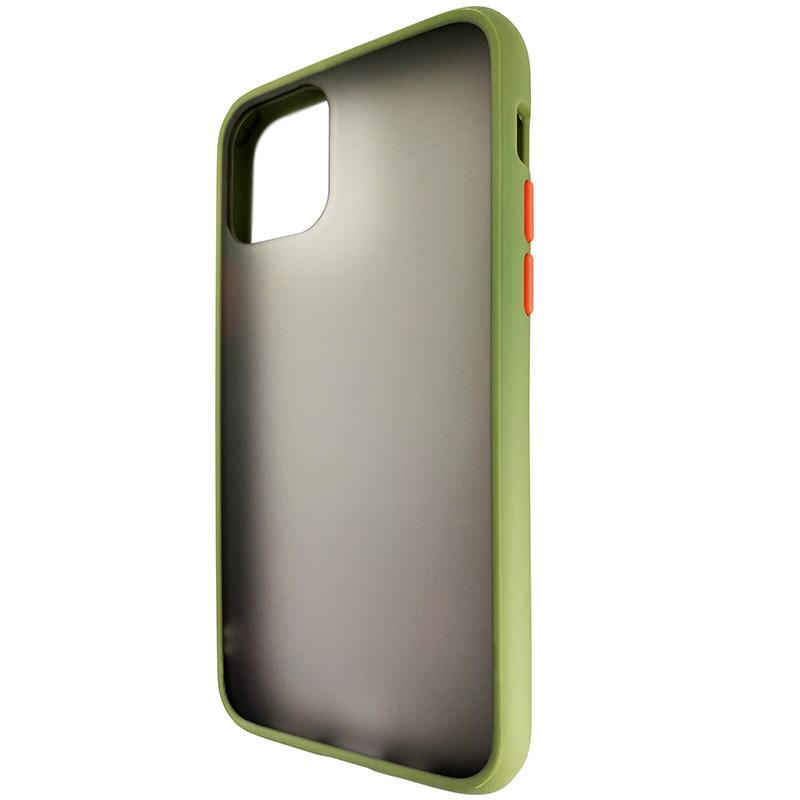 Чохол Totu Copy Gingle Series for iPhone 11 Pro Dark Green+Orange - 2