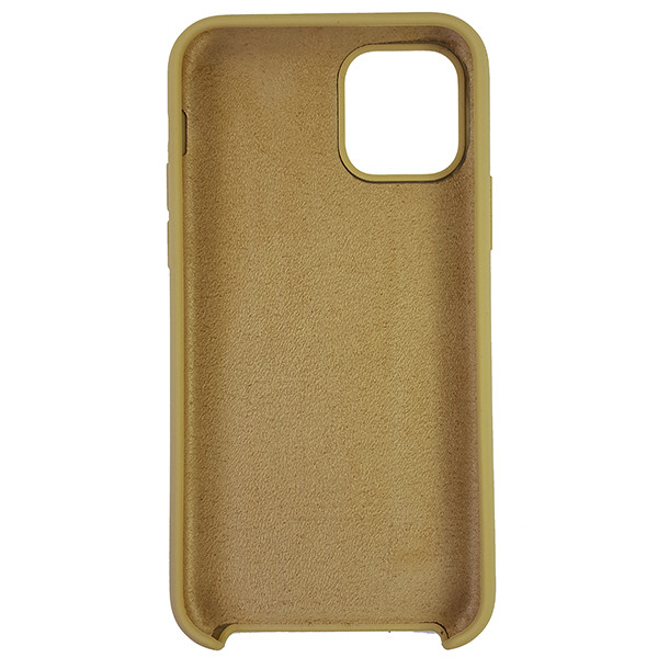 Чохол Copy Silicone Case iPhone 11 Gold (28) - 4