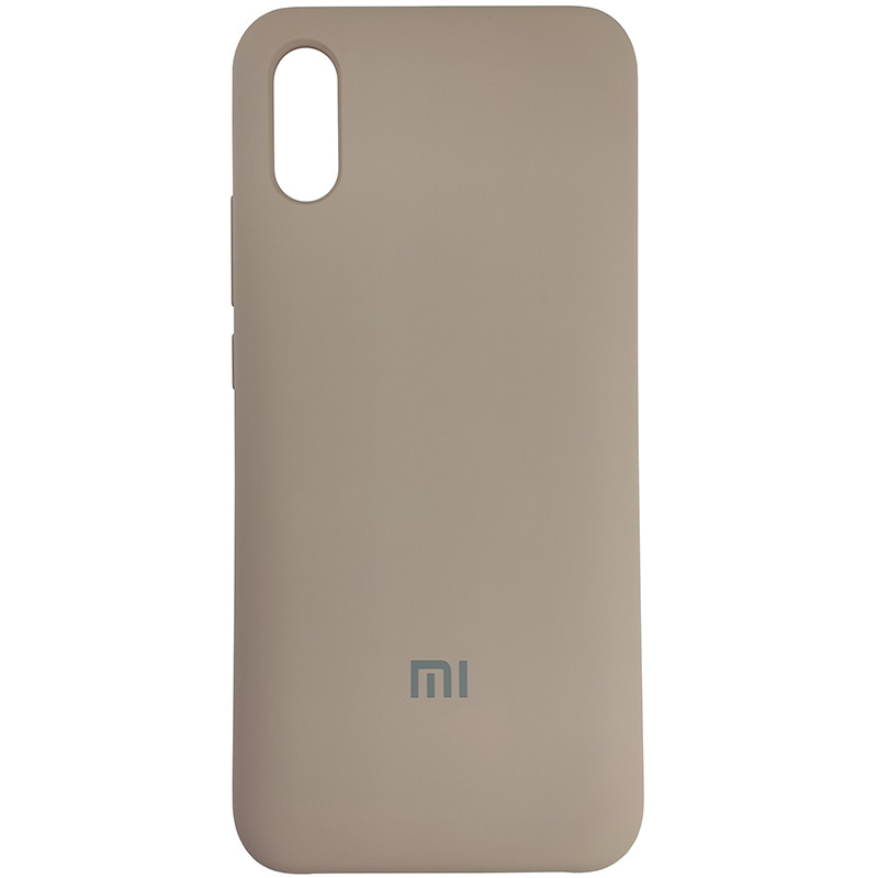 Чохол Silicone Case for Xiaomi Redmi 9A Sand Pink (19) - 1