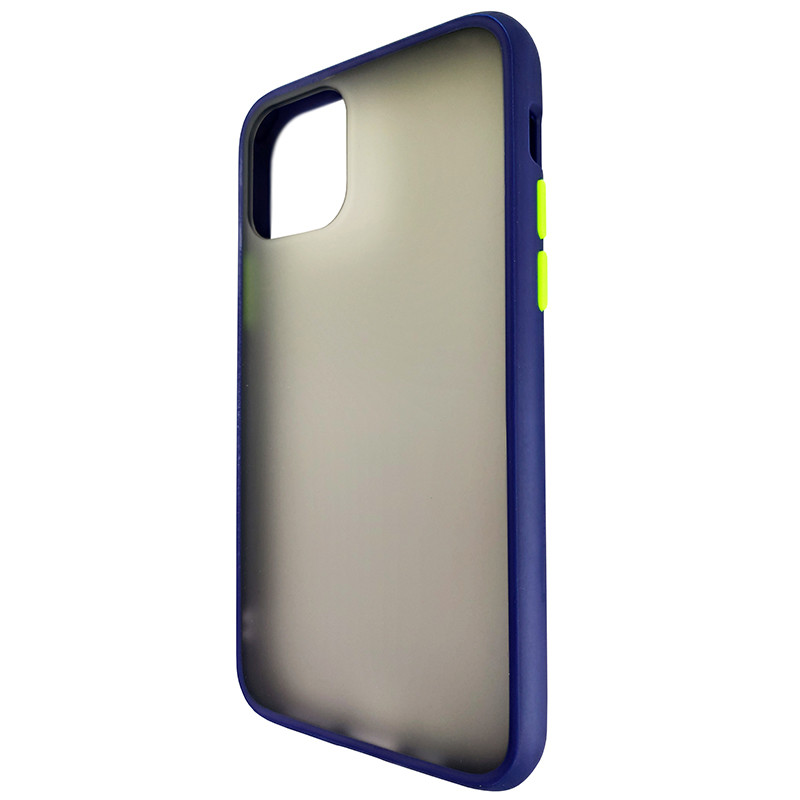 Чохол Totu Copy Gingle Series for iPhone 11 Pro Blue+Lighrt Green - 2